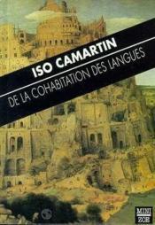 De La Cohabitation Des Langues - Couverture - Format classique