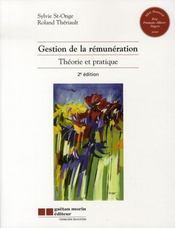 Gestion de la rémunération ( 2e édition ) - Intérieur - Format classique