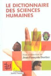 Le Dictionnaire Des Sciences Humaines - Couverture - Format classique