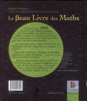 Le beau livre des maths ; de Pythagore à la 57e dimension - 4ème de couverture - Format classique