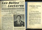 Le Prince Heureux - L'Ami Devoue - Les Belles Lectures - 5° Annee - N°149 - Couverture - Format classique
