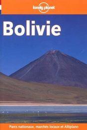 Bolivie ; 1e Edition - Intérieur - Format classique