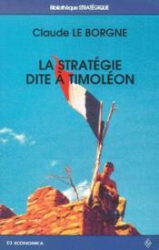 La Strategie Dite A Timoleon - Couverture - Format classique