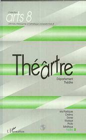 Théâtre 2 département théâtre - Couverture - Format classique