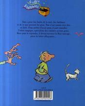 S.O.S. petit peureux - 4ème de couverture - Format classique