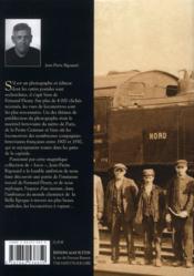 Locomotives 1904-1930 ; les photographies Fleury - 4ème de couverture - Format classique