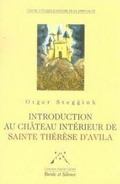 Introduction au château intérieur de sainte thérèse d'avila - Intérieur - Format classique