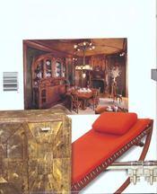 Le mobilier du XXe siècle - 4ème de couverture - Format classique