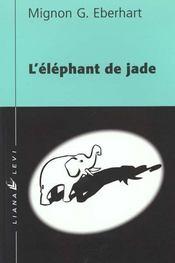 Elephant de jade - Intérieur - Format classique