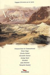 Voyage en Savoies - Couverture - Format classique