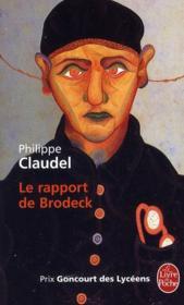 Le rapport de Brodeck - Couverture - Format classique
