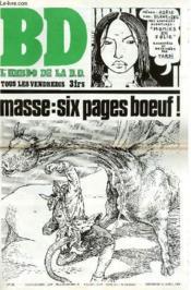 B.D. L'Hebdo De La B.D. N°28 - Masse : Six Pages Boeuf ! - Couverture - Format classique