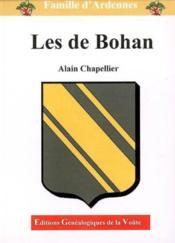 Essai genealogique les de bohan - Couverture - Format classique