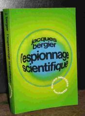 L'Espionnage Scientifique - Couverture - Format classique
