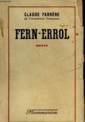 Fern-Errol. - Couverture - Format classique