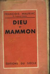 Dieu Et Mammon - Couverture - Format classique