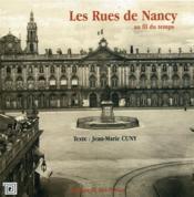 Les rues de Nancy au fil du temps - Couverture - Format classique