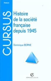 Histoire De La Societe Francaise ; 3e Edition - Couverture - Format classique