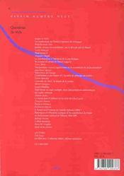 REVUE ESSAIM N.9 ; question de style - 4ème de couverture - Format classique