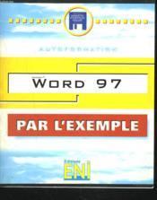 Word 97 (pour l'exemple) - Couverture - Format classique