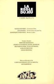 Revue La Regle Du Jeu N.13 - Couverture - Format classique