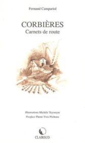 Corbieres carnets de route - Couverture - Format classique