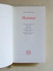 Manassas. - Couverture - Format classique