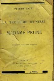 La troisième jeunesse de Madame Prune - Couverture - Format classique