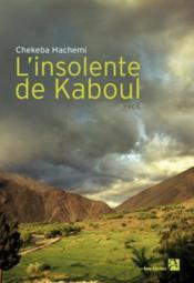 telecharger L'insolente de Kaboul livre PDF/ePUB en ligne gratuit