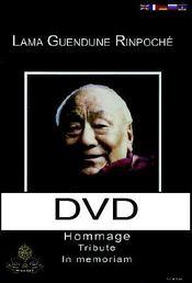 Lama guendune rinpoché ; DVD hommage tribute in memoriam - Intérieur - Format classique