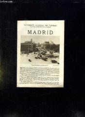 Madrid. Texte En Anglais. - Couverture - Format classique