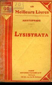 Lysistrata - Couverture - Format classique