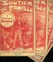 Lot De 4 Fascicules. Soutien De Famille. Oeuvres Completes D'Alphonse Daudet. N°142 Au N°145. - Couverture - Format classique