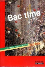 Bac time bac pro eleve 98 - Couverture - Format classique