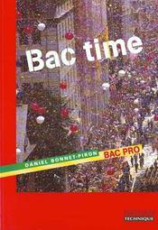 Bac time bac pro eleve 98 - Intérieur - Format classique