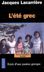 L'été grec - Couverture - Format classique