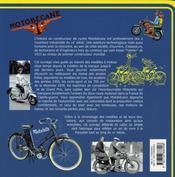 Motobécane, les deux-temps, 1921-1984 - 4ème de couverture - Format classique