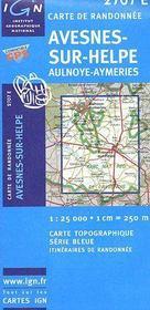 Avesnes-sur-Helpe - Couverture - Format classique