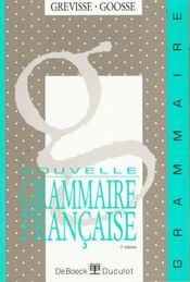 Nouvelle grammaire française - Intérieur - Format classique
