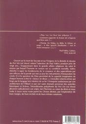Peri Ton Tou Theou - 4ème de couverture - Format classique