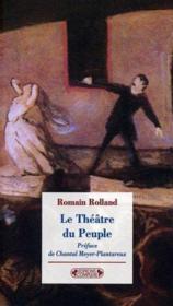 Le théâtre du peuple - Couverture - Format classique