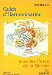 Guide harmonisation avec fetes nature - Intérieur - Format classique