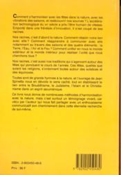 Guide harmonisation avec fetes nature - 4ème de couverture - Format classique