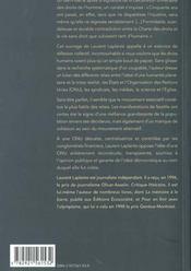 Utopie des droits universels - 4ème de couverture - Format classique