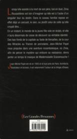 Mademoiselle Scaramouche - 4ème de couverture - Format classique