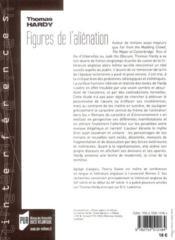 Thomas Hardy, figures de l'aliénation - 4ème de couverture - Format classique