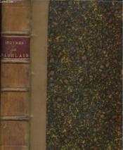 Oeuvres De Rabelais - Couverture - Format classique