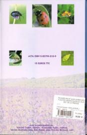 Ravageurs et auxiliaires des plantes aromatiques du sud-est de la france - 4ème de couverture - Format classique