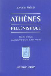 Athenes hellenistique (nouv.ed.) (édition 2006) - Intérieur - Format classique