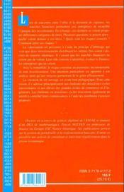 Investissements ; Evaluation D'Actifs Et Gestion Du Risque - 4ème de couverture - Format classique